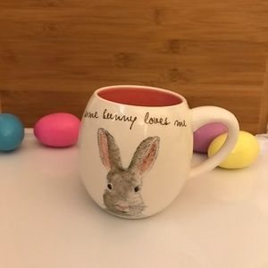 Rae Dunn Easter Some Bunny Loves Me 🐇Coffee Mug